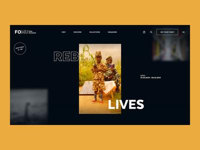 FOMU — Fotomuseum Antwerp — Homepage