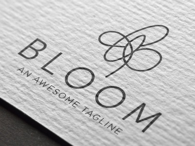 Bloom Logo Design and Branding illustrator logos illustration logo vector graphic design design branding