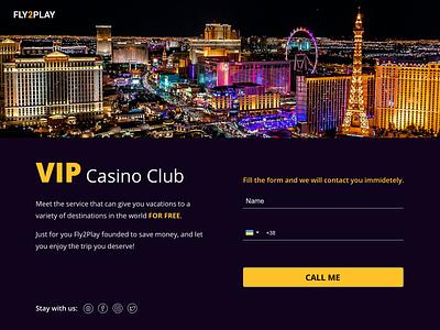 Landing for casino tourism website casino design gambling design gambling tourism branding ui design first screen web design design ui landing page design landing