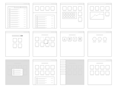 Wireframes -  Shopify Plus