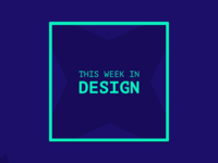 This Week In Design - Logo