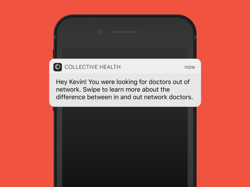 Collective Health Project - Smart Notifications