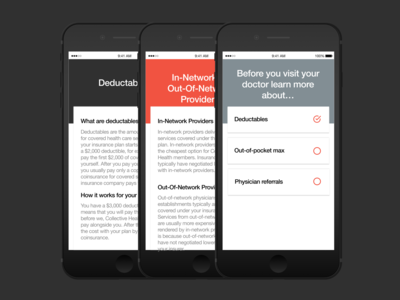 Collective Health Project - App