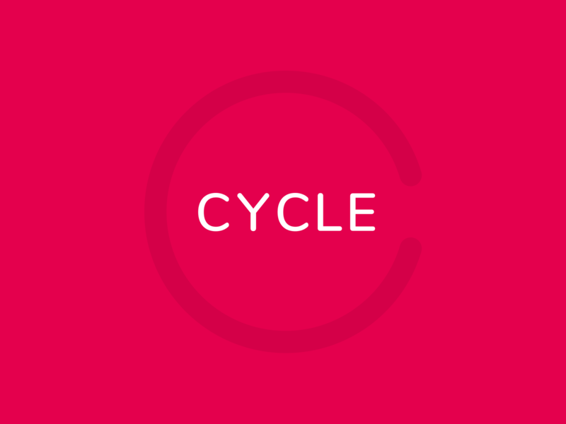 Cycle logo - Birth control tracking app and pill dispenser