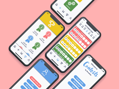 Contests app health fitness branding