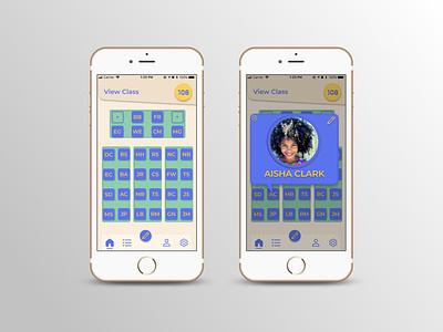 Classroom Seating Chart branding ui ux design app