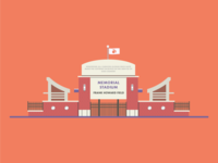 Memorial Stadium at Clemson University
