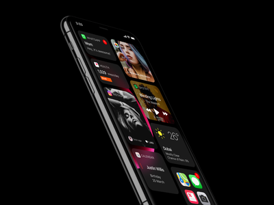iOS 14 Design Concept iphone ios concept concept user interface apple ios