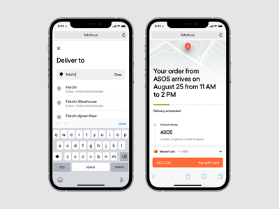 Fetchr | Mobile Delivery Scheduling