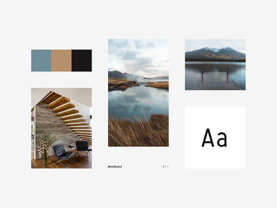 VOMOODĒ color photography typo nature architecture moodboard vomoode
