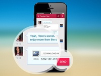 Design for a chat app