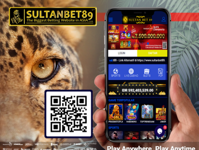 Situs Judi Slot Online Resmi By Sultanbet89 On Dribbble