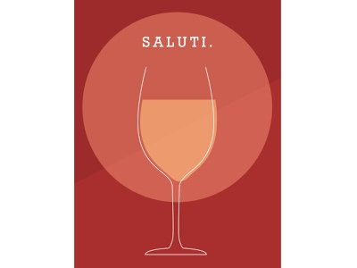 🍷Saluti wine simplistic warm colors shape elements indesign cheers layout design design color schemes