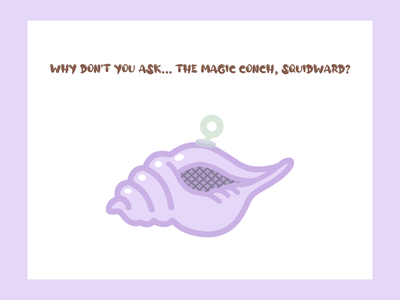 The Magic Conch ai illustration