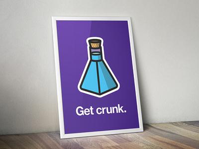 """Get Crunk"" Poster"
