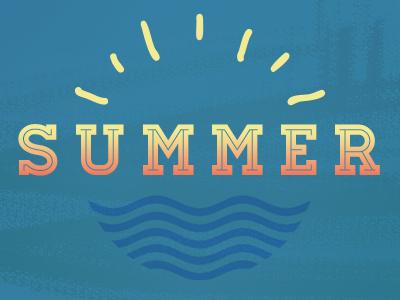 Summer Lockup summer sun water waves