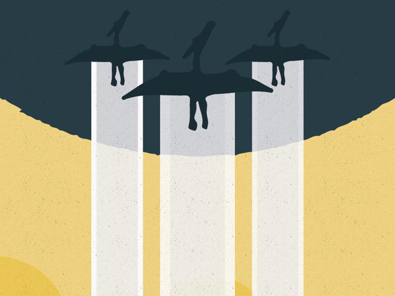 WW2 Styled Motivational Poster inspiration motivation ww2 fly propaganda dinosaur cloud poster