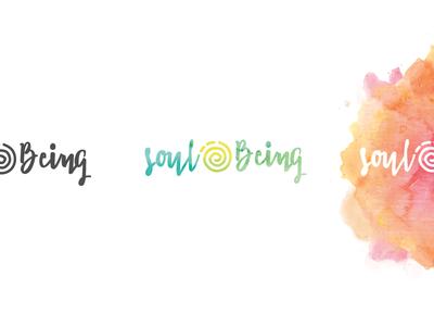 Rejected Wellness Branding sun spiral wellness health brand