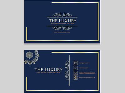 Business Card illustration vector design logo branding