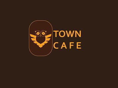 Café Logo icon idea flat vector creative minimal logo illustration branding design