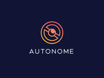 Driverless Car Logo vector typography idea logodesign minimal creative illustration design branding logo design logo