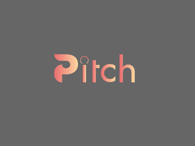 "Streaming Music Logo ""Pitch"" idea logodesign vector creative minimal logo illustration branding design"