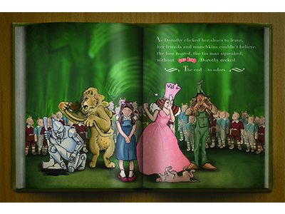 Gold Bond Wizard of Oz Ad