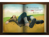 Gold Bond Gulliver's Travels Ad