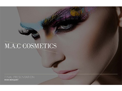 Mac Cosmetics Web and Mobile Designs