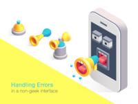 Handling errors in a non-geek interface