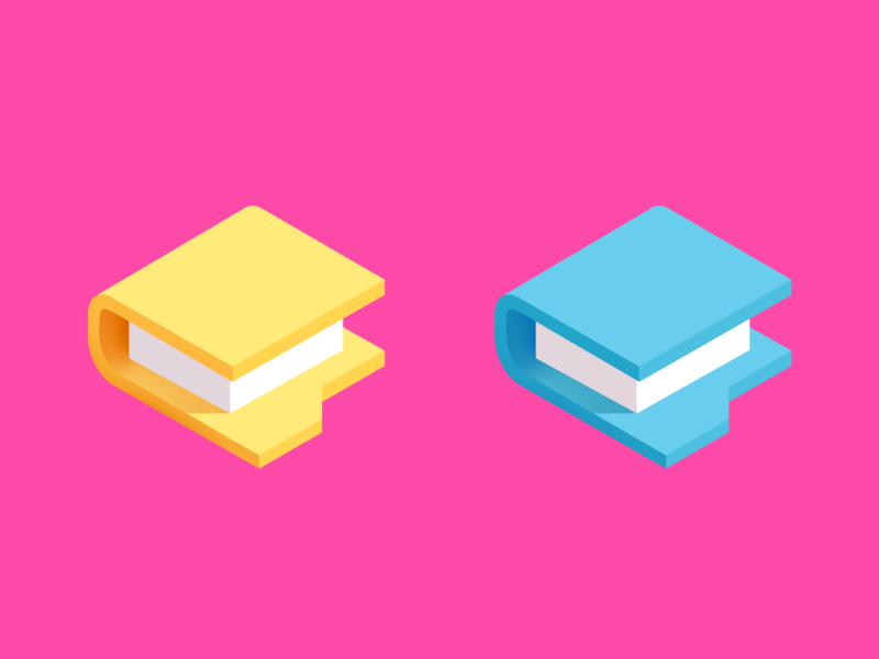 There are two types of people os pc mac 2d icon isometric illustration