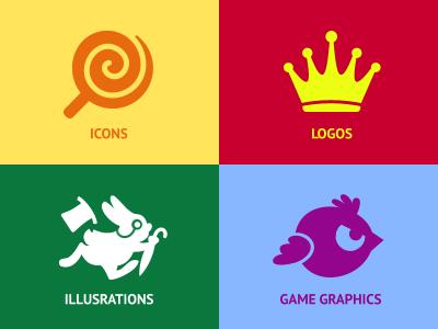 Iconka website icons icon iconka icons logos illustrations game graphics updated