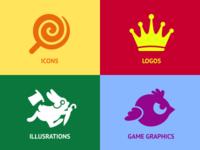 Iconka website icons