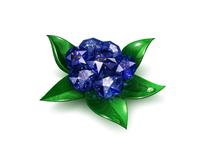 Gem Flowers for Vkontakte