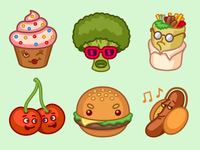 IMO Food Stickers