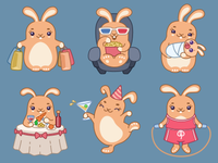 Stickers for Applause App