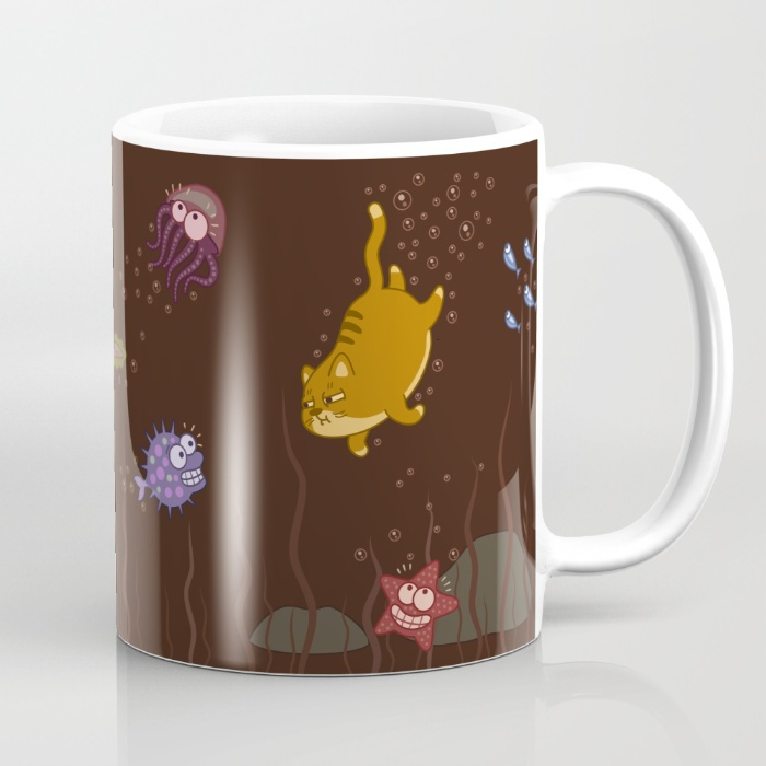 Sea of coffee mugs