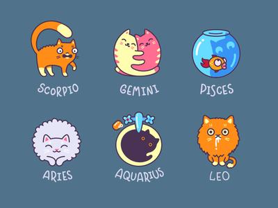 Cat Zodiac