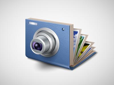 Application Icon for FlippingBook Photographer  photo album camera icon iconka photos