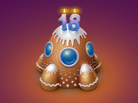 Cake for Vkontakte