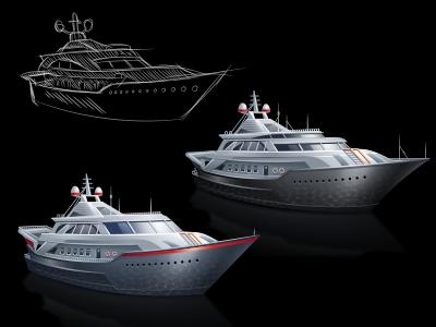 Ships for FloatService ships yacht ship hosting float icon iconka