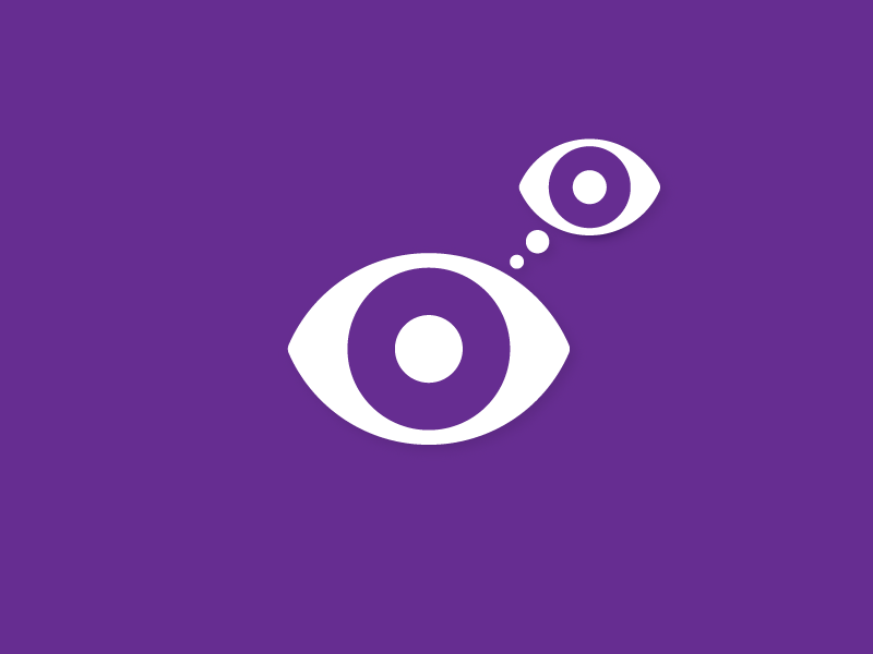 Tough Metaphor Challenge idea metaphor deja vu eye logo icon