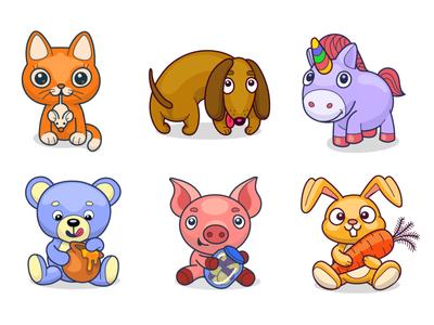 Toy Animal Virtual Gifts
