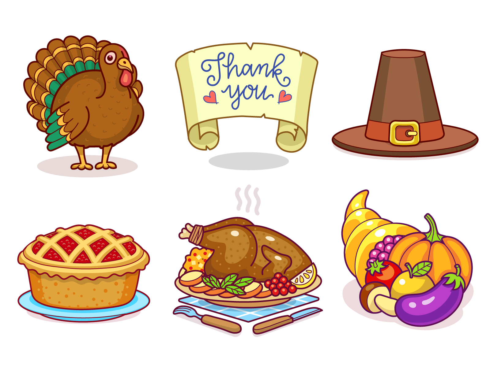 Thanksgiving dribbble