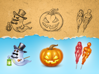 Halloween gifts for Spaces.ru
