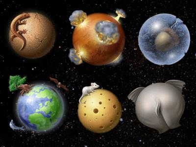 Planets icons planets iconka.com venus mars pluto earth moon uranus