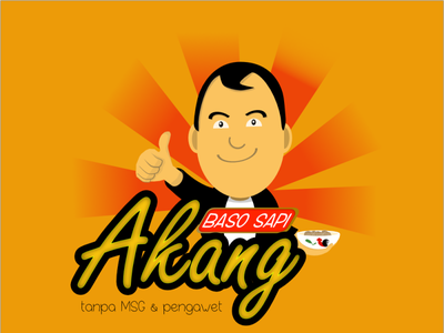 baso akang png brand design culinary foodlogo indonesia characterdesign design illustration logo character affinity designer affinitydesigner