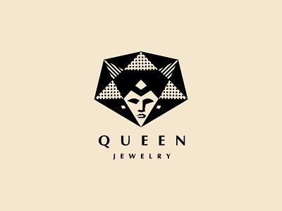 Queen. Jewelry brand logodesign logos logo logotype jewelry queen logofolio branding