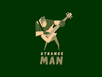 Strange man branding logofolio bandlogo design logo band rock