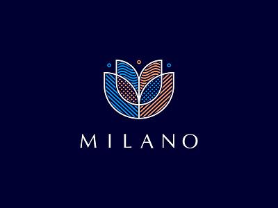 Milano ui logotype design logosmyk logodesign logofolio branding logo